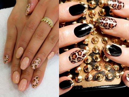 Фото дизайн леопардовых ногтей