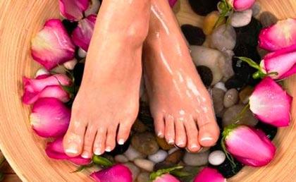 ванночка от усталости ног