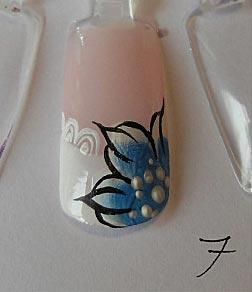 урок росписи на ногтях
