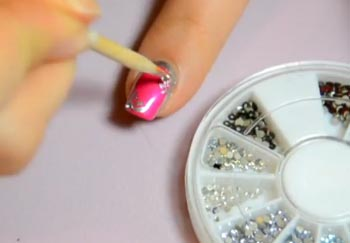 дизайн ногтей в розовых оттенках