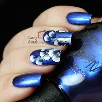 китайская роспись ногтей пошагово