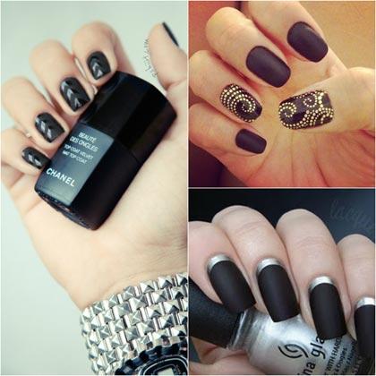 Ногти фото черный дизайн фото