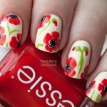 Дизайн ногтей с маками: 35 идей и уроки
