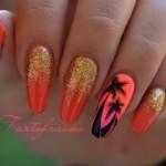 Пальмы на ногтях: летние идеи и урок