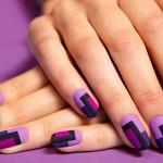 Матовые ногти в ретро стиле шаг за шагом