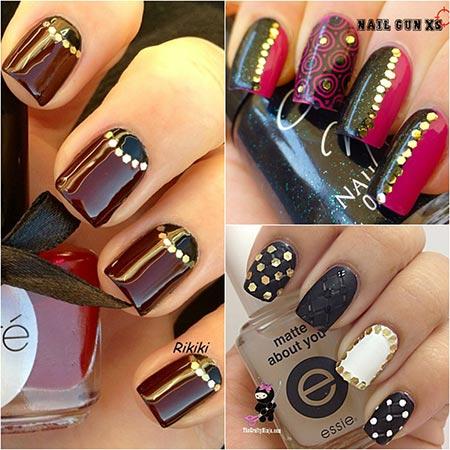 блестящие ногти