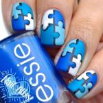 Креативные ногти Пазл