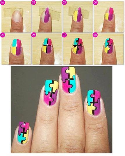 креативные ногти