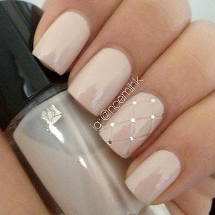 стеганые ногти
