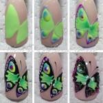 Дизайн ногтей Бабочки: 35 фото уроков