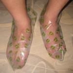 Педикюрные носочки: избавляемся от трещин на пятках