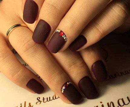 матовый топ Vogue Nails