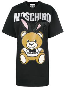 Платье-футболка 'playboy toy' moschino