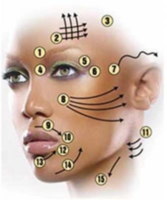 Лицо без морщин древний косметический самомассаж