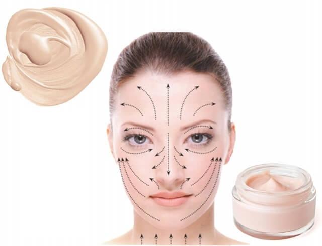 Как наносить на лицо крем