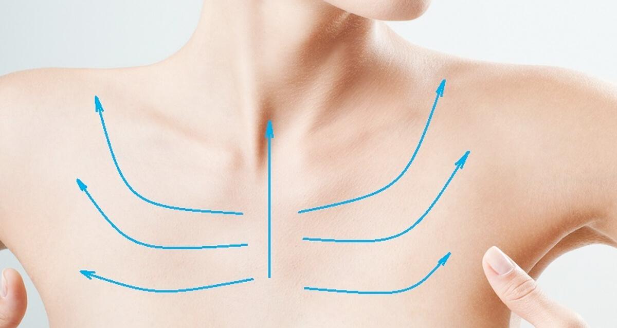 Уход за кожей шеи и зоны декольте
